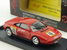 Bang 8007 FERRARI 348 tb CHALLENGE 90' ROSSO RED modello di auto 1:43 OVP 1412-11-47