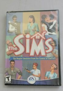 The Sims 1 Original PC, 2000 EA Computer Game Excellent Condition With Serial
