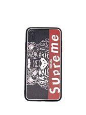 Supreme x Kenzo Pattern Fashion Silicone Rubber IPhone Case