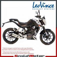 KTM DUKE 125 2015 15 LEOVINCE TERMINALE SCARICO LV ONE ACCIAIO INOX 8725