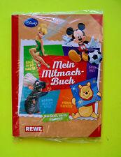 1x Sammelalbum Rewe Disney Mitmach Sticker Album Ovp