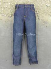 1/6 scale toy Black Steel - Blue Jean Pants