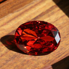 Pomegranate Red Sapphire 54.98ct 18x25mm Oval Cut Shape AAAAA VVS Loose Gemstone