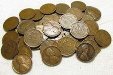 1 ROLL OF 1915 D DENVER LINCOLN WHEAT CENTS FROM PENNY COLLECTION