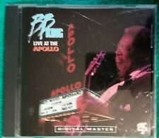 B.B. King Live At The Apollo CD 1991  (a15)
