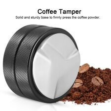 51mm Stainless Steel Espresso Coffee Tamper Base Home Coffee Bean Press Tool