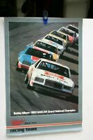 1983 FULL COLOR NASCAR POSTER CHAMP BOBBY ALLISON MILLER HIGH LIFE RACING