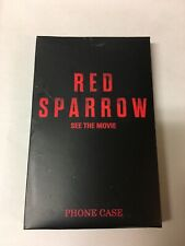 RED SPARROW w/ JENNIFER LAWRENCE iPhone Case: 6/6s: NEW