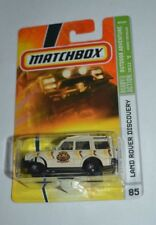 2008 MATCHBOX OUTDOOR ADVENTURE LAND ROVER DISCOVERY TAN # 85 VHTF !!