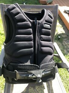 Da Kine Impact Vest Harness with Spreader bar Size L (Chest 37inch)