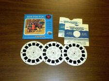 RIN TIN TIN tv (930abc) Viewmaster 3 reels PACKET SET vintage