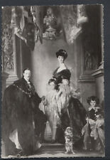Artist Postcard - Blenheim Palace, Group of 9th Duke & Family By Sargent RR2486