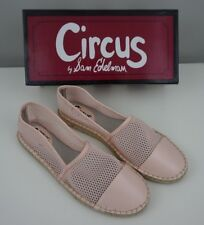 Circus Sam Edelman Women's 10 Pink Lena Espadrilles Slip On Flat Shoes NEW