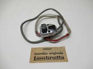 """Orig Italian Lambretta""""Spec/SX/""""GP/DL""""Italian """"BECME""""Torino Light Switch N.O.S"""