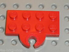 LEGO train red Plate 2 x 4 with Magnet Coupling Holder 753 / Set 119 138 118 126