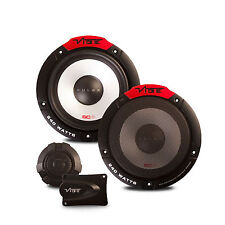 "VIBE® PULSE 6C 240W 6.5"" COMPONENT SPEAKERS X2 FOR CAR DOOR / PARCEL SHELF AUDIO"