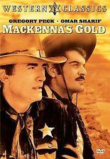 MacKenna's Gold, Good DVD, Burgess Meredith, Raymond Massey, Lee J. Cobb, Ted Ca