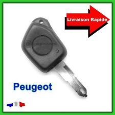 Coque Télécommande Plip Bouton Clé Peugeot  106 206  306 406 + Lame vierge