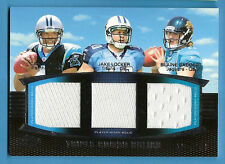 CAM NEWTON 3 #d ROOKIE JERSEY CARD  BLAINE GABBERT JAKE LOCKER CAROLINA PANTHERS