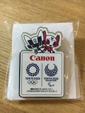 Canon Tokyo2020 Olympic Paralympic Pin Japan Camera&Printer Gold Partner Sponsor