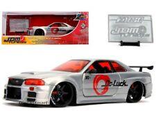 Jada 1 24 20th Anniversary JDM 2002 Nissan Skyline GTR R34 31085 Diecast Model