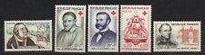FRANCE Sc.#B302,327-328,347,353 MNH 'FRANCOIS of TAXIS-ST. VINCENT' 1956-61 VF