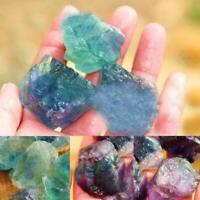 1.5-2cm Natural Fluorite Quartz Crystal Purple Stones Polished Rough T4V6 P4N9