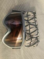 SMITH ski goggle (adult, gray/bluish frame) (used)