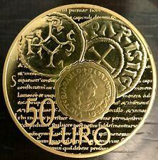MDP - 50 euros or semeuse 2014 - monnaie haut moyen-age denier de 864