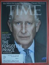 TIME MAGAZINE NOVEMBER 4 2013 THE FORGOTTEN PRINCE CHARLES BY CATHERINE MAYER