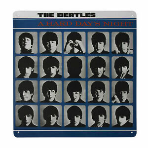 The Beatles A HARD DAY'S NIGHT Metal Wall Sign Retro Tin Steel Plaque Gift