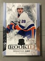2017-18 THE CUP Sebastian Aho Rookie New York Islanders /249