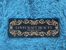 Lovecraft Beauty Bronzer Palette Peach, Warm Tan, Dark Tan.