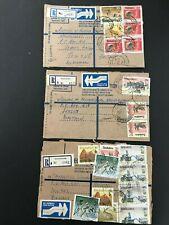 Postal History Zimbabwe 3 Registered Covers 1992, Kadoma, Magwegwe, Masvingo