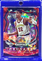 TYRESE HALIBURTON 2020-21 PANINI PRIZM DRAFT PICKS RED ICE PRIZM #90 ROOKIE RC