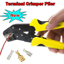 Wire Cutter Stripper Crimping Tool Pliers Electrical Cable Crimper Non-insulated