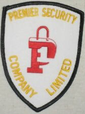 "Premier Security Company Limited Patch - 3"" x 4"""