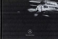 Mercedes-Benz AMG 2003-04 UK Brochure C30 C32 CLK55 SLK32 E55 S55 SL55 CL55 G55