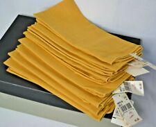 NWT 8 Gold Cloth Dinner Napkins