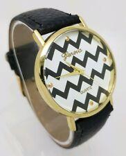 Ladies Fashion Gonova Quartz Black Strap Watch *Ex-Display* A8
