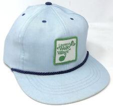 Vintage Lawrence Welk's Village Souvenir Golfing Strapback Hat Cap Escondido, CA
