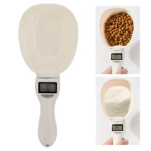 Dog/Cat Food Scoop Ice Sugar Scooper Precise Measuring LED Digital Scale Spoon