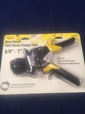 Apollo 3/8 in. to 1 in. One Hand PEX Pinch Clamp Tool