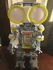 Nice! Meccano Erector Mechanoid G15 Build Your Own Personal Interactive Robot!