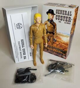 Recast Gen. Custer with Fantasy Box and Manual