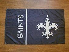 New Orleans Saints Flag Banner 3X5Ft Garage Mancave Super Bowl Football Nfl