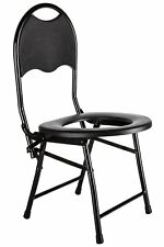 Portable Camping Toilet Chair with Backrest - Yoni Steam Seat – Folding...