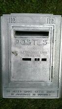 boite lettre poste PTT briefkasten facteur postier letter industriel vintage box