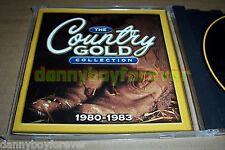 The Country Gold Collection 1980-1983 Time Life CD 22 Songs Dolly Parton Hank Jr