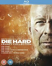 Die Hard: 1-5 Legacy Collection (Box Set) [Blu-ray]